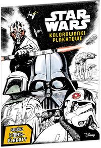 Star Wars Kolorowanki plakatowe