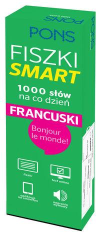 Fiszki SMART - 1000 słów na co dzień. Francuski