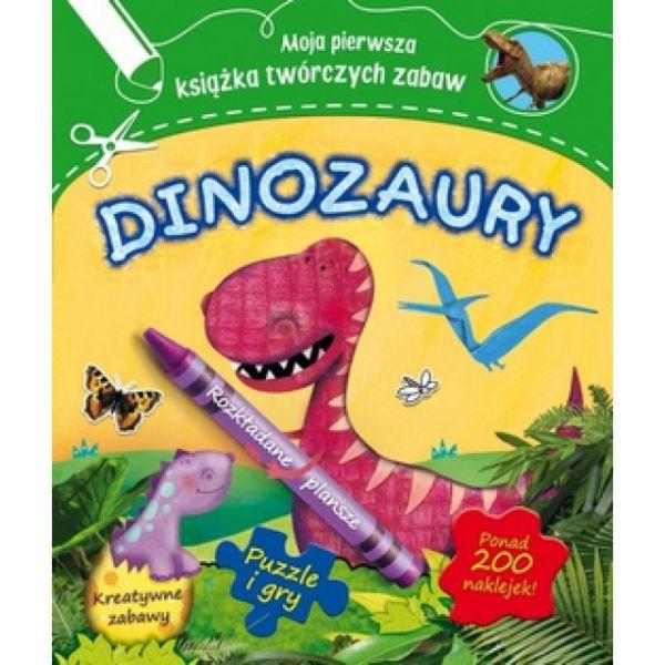 Worms Penny - Moja pierwsza książeczka twórczych zabaw dinozaury