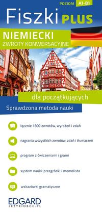 Pytlińska Zuzanna - Niemiecki Fiszki Plus Zwroty konwersacyjne dla początkujących, Nowa