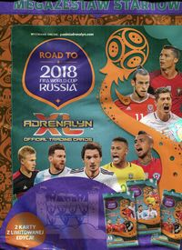 Adrenalyn XL Road to 2018 FIFA World Cup Russia Megazestaw startowy