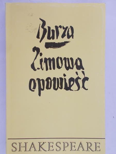 Shakespeare William - Burza. Zimowa opowieść