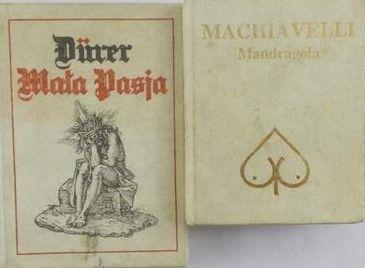 Machiavelli/Durer- Mandragola/ Mała Pasja, miniatura