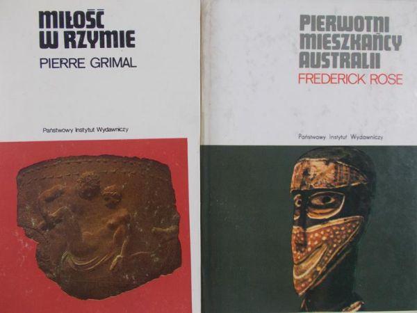 Grimal/Rose - Miłość w Rzymie/Pierwotni mieszkańcy Australii