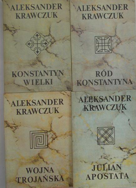 Krawczuk Aleksander - Zestaw 4 książek