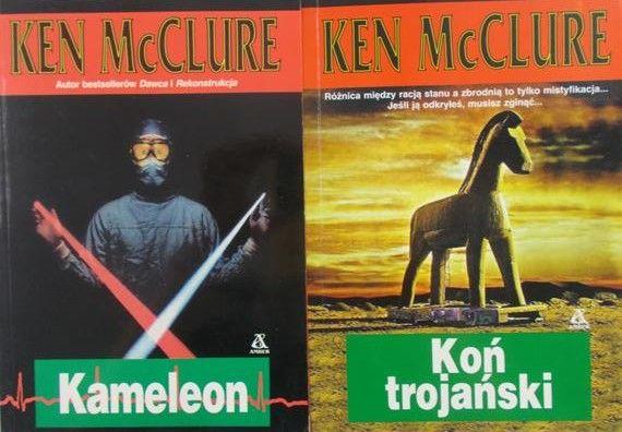Mcclure Ken Kameleon Koń Trojański Ken Mcclure 1000 Zł