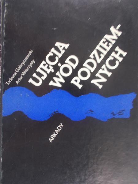 Gabryszewski Tadeusz - Ujęcia wód podziemnych