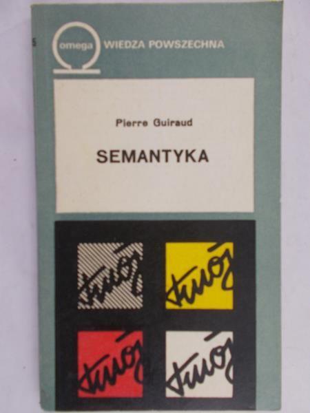 Guiraud Pierre - Semantyka