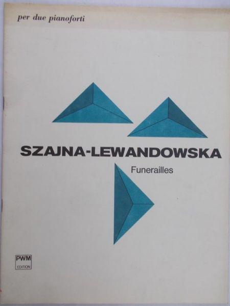 Szajna-Lewandowska Jadwiga - Funerailles