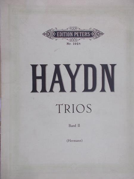 Haydn Joseph - Triod, Band II