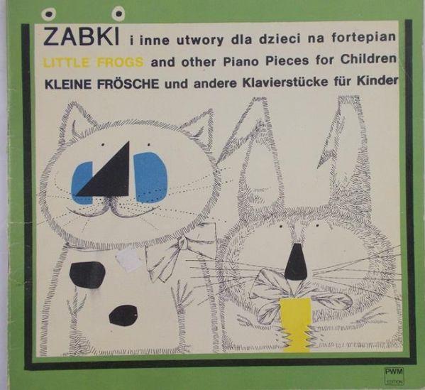 Raube Stanisława - Zabawki i inne utwory dla dzieci na fortepian