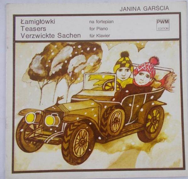 Garścia Janina - Łamigłówki na fortepian
