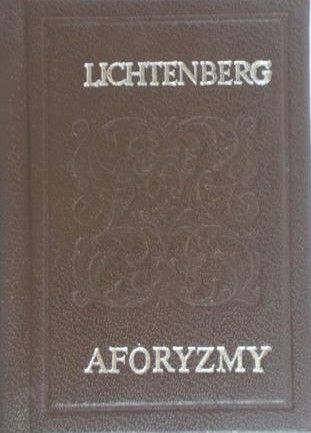 Lichtenberg Georg Christoph - Aforyzmy, Miniatura