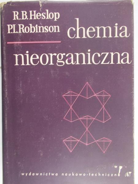 Heslop R. B. - Chemia nieorganiczna