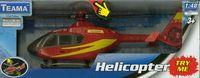 Helikopter z dźwiękiem czerwony 1:48