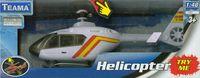 Helikopter z dźwiękiem biały 1:48