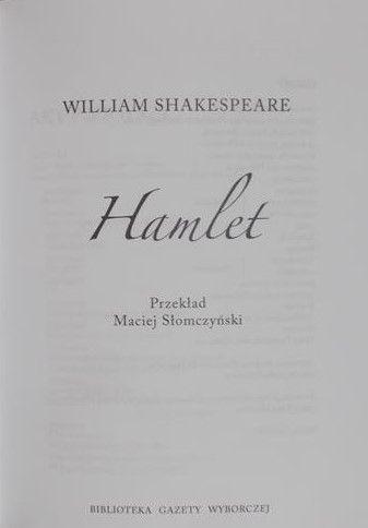 Shakespeare William - Hamlet, płyta DVD