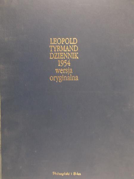 Tyrmand Leopold - Dziennik 1954 wersja oryginalna
