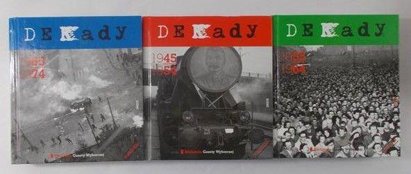 Lipiński /Madej/Dwilewicz  - Dekady 1945-1954/ Dekady 1955-1964/ Dekady 1965-1974 + Płyty CD