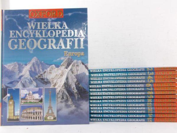 Oxford: Wielka Encyklopedia Geografii, Tom I-XV