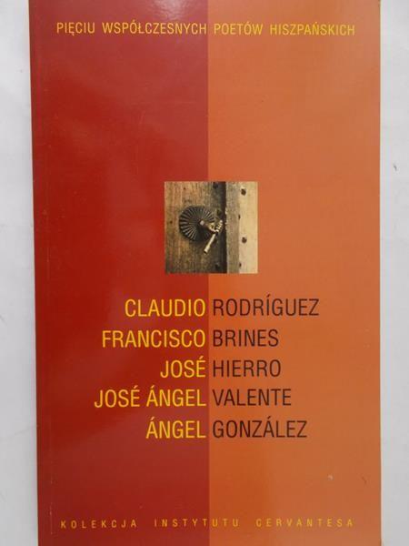 Beltran Gerardo - Pięciu współczesnych poetów hiszpańskich