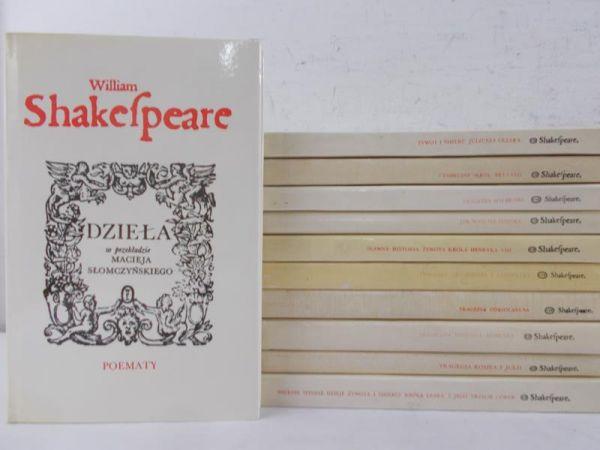 Shakespeare William - Dzieła w przekładzie Macieja Słomczyńskiego, 11 tomów