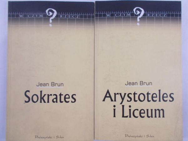 Brun Jean - Sokrates / Arystoteles i Liceum