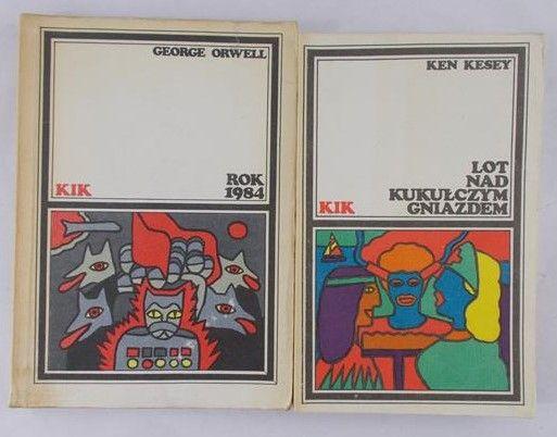 Orwell George/Kesey Ken - Rok 1984/Lot nad kukułczym gniazdem