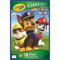 Gigantyczna kolorowanka Psi Patrol