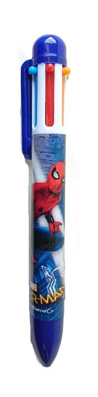 Długopis 6 kolorów Spider Man 10