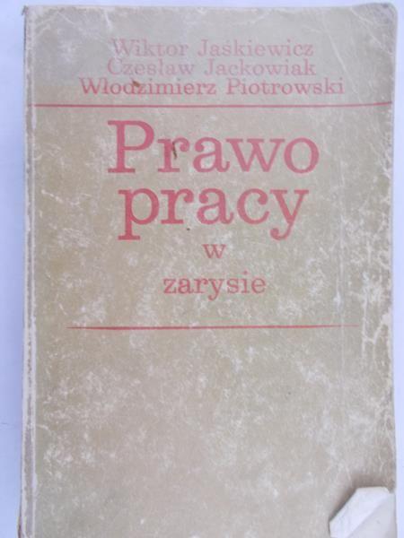 Jaśkiewicz Wiktor - Prawo pracy w zarysie