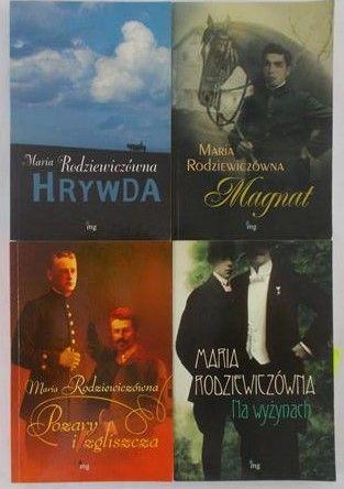 Radziewiczówna Maria - Zestaw 4 książek