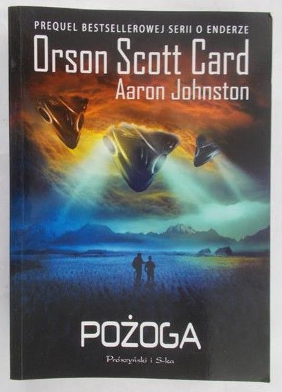 Card Orson Scott - Pożoga