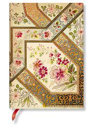Notatnik Filigree Floral Ivory Flexis Midi linia