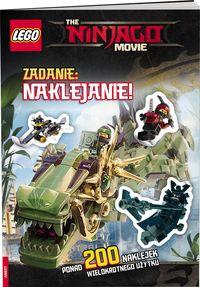 Lego Ninjago Movie Zadanie naklejanie
