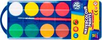 Farby akwarelowe Astra 12 kolorów - fi 30,0mm