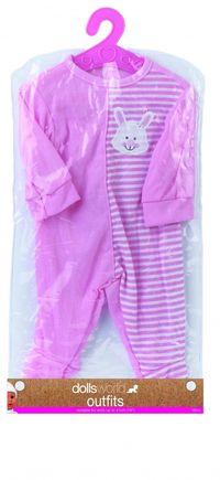 Ubranko Deluxe Fashion Boutique dla lalek do 41cm różowe z króliczkiem