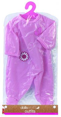 Ubranko Deluxe Fashion Boutique dla lalek do 41cm rożowe z motylkiem