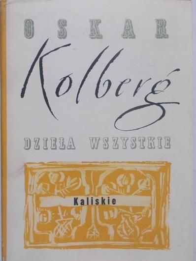 Kolberg Oskar - 23Dzieła Wszystkie, 1890r.