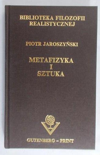 Znalezione obrazy dla zapytania Piotr Jaroszyński Metafizyka i sztuka
