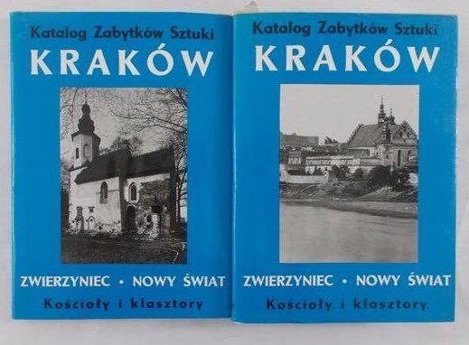 Daranowska - Łukaszewska Joanna (red.)- Kraków, Tom IV/Częśc VII Zwierzyniec i Nowy świat  Kościoły i klasztory- 2 książki