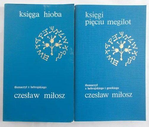 Miłosz Czesław (tłum.) - Księga Hioba/Księgi pięciu megilot
