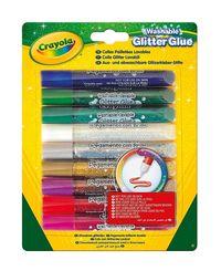 Crayola Klej brokatowy 9 sztuk