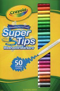 Crayola Markery zmywalne i spieralne 50 sztuk