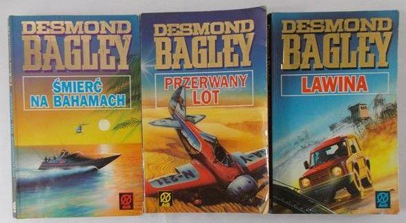 Bagley Desmond - Lawina / Przerwany lot / Śmierć na Bahamach