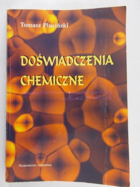 Pluciński Tomasz - Doświadczenia chemiczne