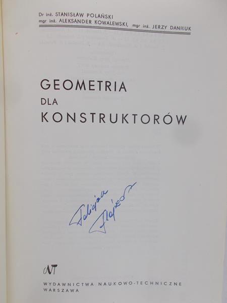 Polański S. - Geometria dla konstruktorów