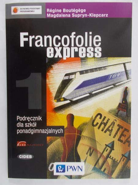 Boutegege Regine - Francofolie express 1, Nowa