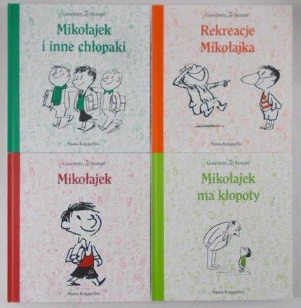 Sempe I Goscinny Mikołajek I Inne Chłopaki Wakacje Mikołajka