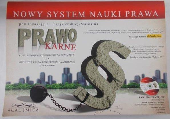 Czajkowska-Matosiuk K. -Prawo Karne, płyta CD